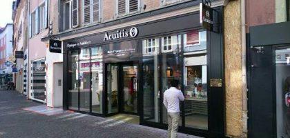 Aménagement de la boutique Acuitis