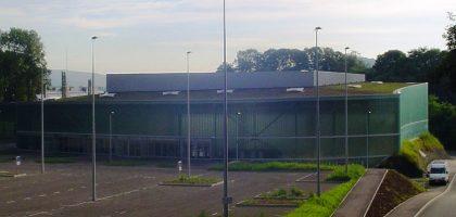 Gymnase universitaire et maison des sports «Le Phare» à Belfort