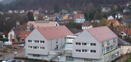 Construction d'une maison médicalisée le Bergopre à Schirmeck