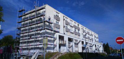 Réhabilitation d'un immeuble composé de logements et de bureaux rue du Petit Chênois à Montbéliard