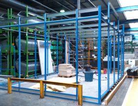 Installations pour nouvelle presse chez Gestamp à Champagney