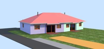Construction de 8 maisons pour seniors à Desandans