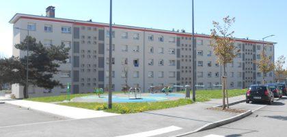 Travaux d'amélioration de 211 logements au quartier du Mont Chevis à Montbéliard