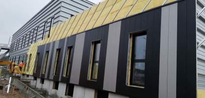 Construction des bureaux de la Chambre des Métiers de l'Artisanat et de l'Industrie à Trevenans
