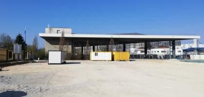 Construction d'un pôle services à Montbéliard