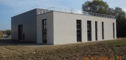 Construction d'un bâtiment industriel à Burnhaupt le Haut